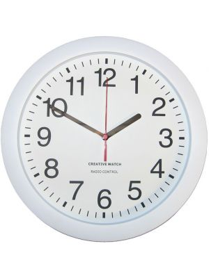 Office Clock with Radio Controlled Accuracy and Clear Dial | 36014