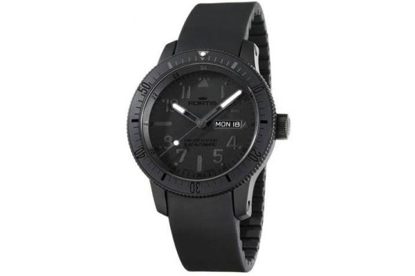 Mens Fortis B-42 Black Watch 647.28.81K