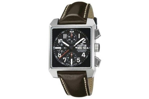 Mens Fortis Square Watch 667.10.41L