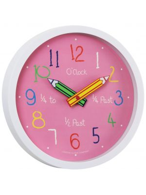Tell The Time Colouring Box Kids Wall Clock | 24153