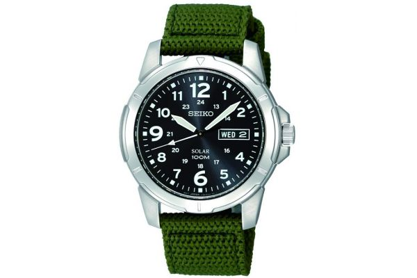 Mens Seiko Solar Watch SNE095P2