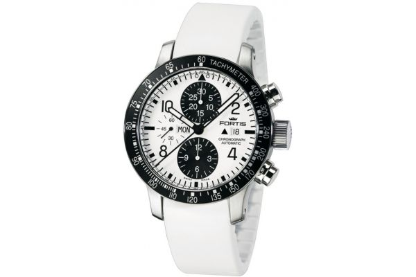 Mens Fortis  B-42 Stratoliner Watch 665.10.12 Si 02