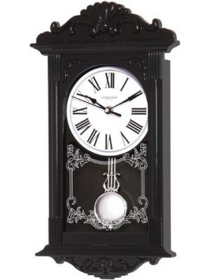 Kitsch Black Resin Pendulum Wall Clock | 21038