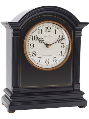 Black and Gold Mantle Clockwith Arabic Dial | 03103