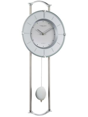 Chrome pendulum wall clock | 23147
