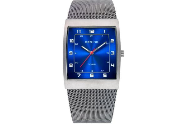 Mens Bering Titanium Watch 11233-078