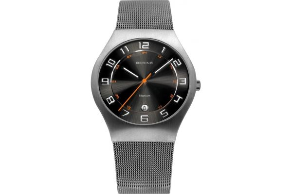 Mens Bering Titanium Watch 11937-007