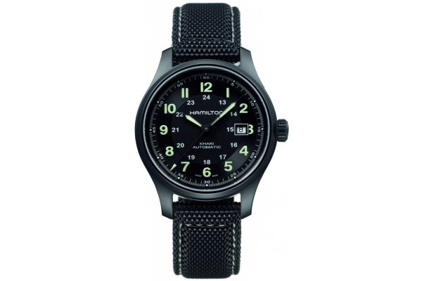Mens Hamilton Khaki Field Watch H70575733