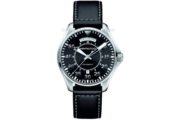 Mens Hamilton Khaki Aviation Watch H64615735