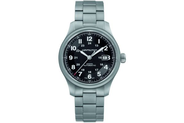Mens Hamilton Khaki Field Watch H70565133