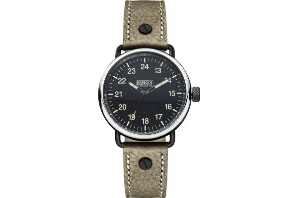 Mens Barbour International Watch bb022bkbr