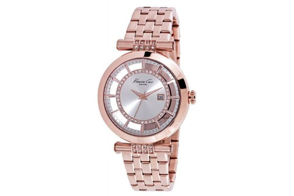 Womens Kenneth Cole Transparent Watch kc10021106