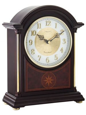 Break arch mantel clock | 06409