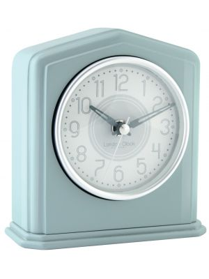 Turquoise piano finish mantel clock | 06426