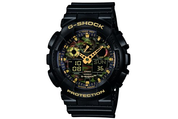 Mens Casio G Shock Watch GA-100CF-1A9ER
