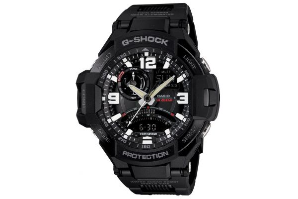 Mens Casio G Shock Watch GA-1000FC-1AER