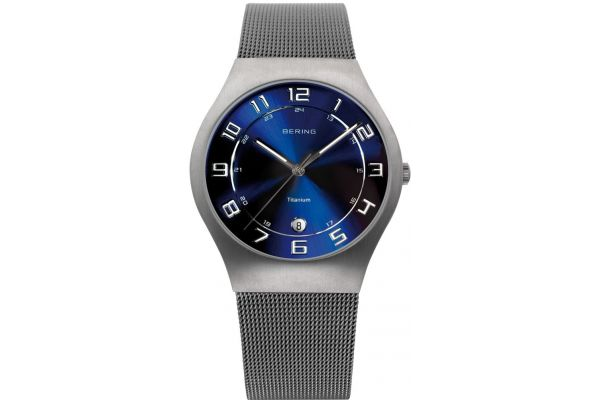 Mens Bering Titanium Watch 11937-078