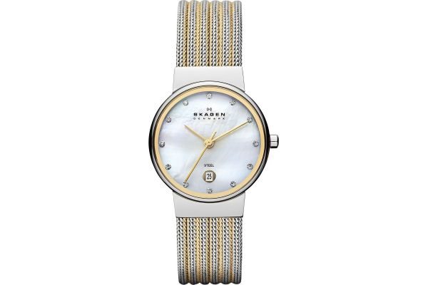 Womens Skagen Ancher Watch 355SSGS