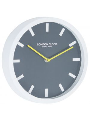 White rubber wall clock | 24406