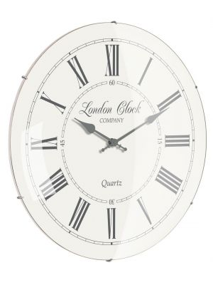 Cream Roman numeral wall clock  | 24292