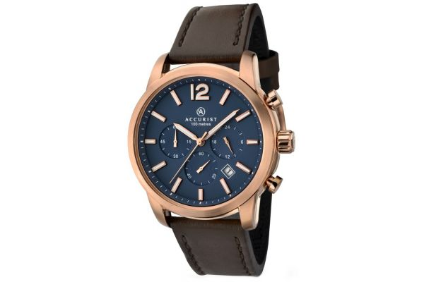 Mens Accurist Chronograph Watch 7021.00