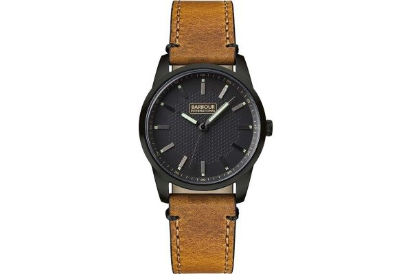 Mens Barbour Jarrow Watch bb026bktn