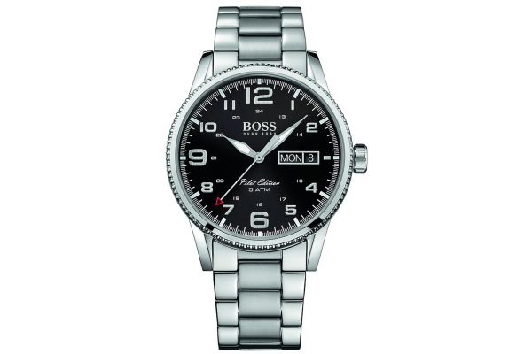 Mens Hugo Boss Pilot Edition Watch 1513327