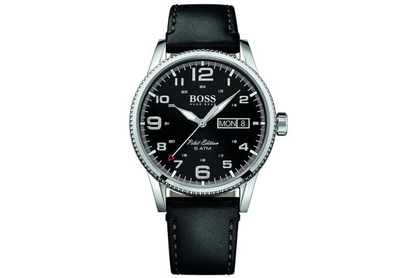 Mens Hugo Boss Pilot Edition Watch 1513330