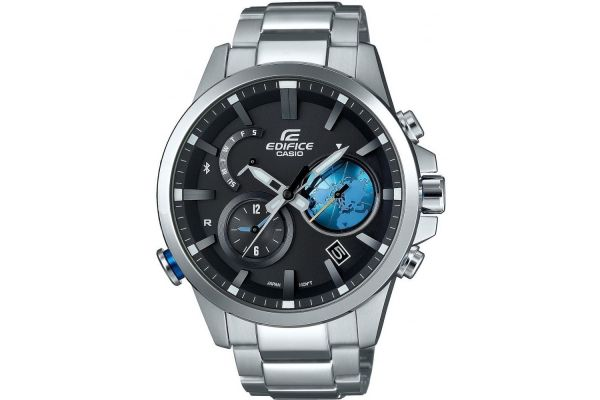 Mens Casio Edifice Watch EQB-600D-1A2ER