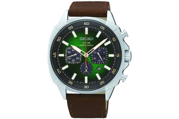Mens Seiko Solar Watch SSC513P9