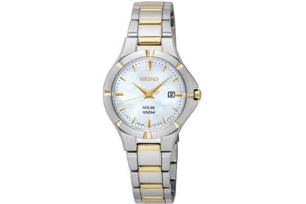 Womens Seiko Solar Watch SUT294P1