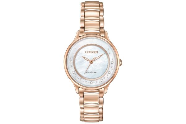 Womens Citizen Circle Of Time Watch EM0382-86D