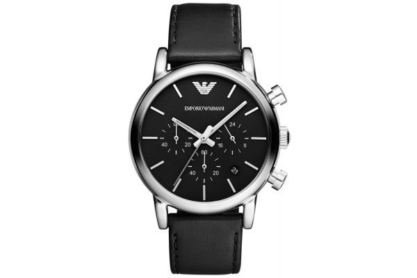 Mens Emporio Armani Classic Watch AR1733