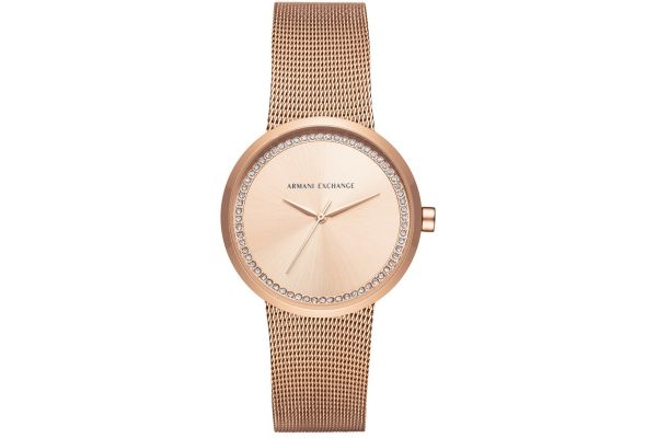 Womens Armani Exchange Dress Watch AX4503