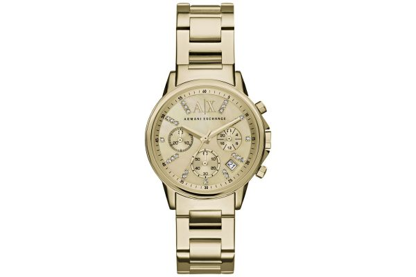 Womens Armani Exchange Dress Watch AX4327