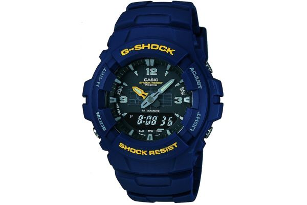 Mens Casio G Shock Watch G-100-2BVMUR