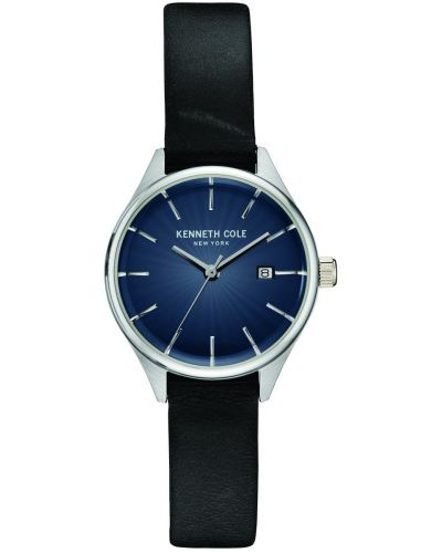 Womens Kenneth Cole Classic Blue Steel on Strap KC10030839 Watch