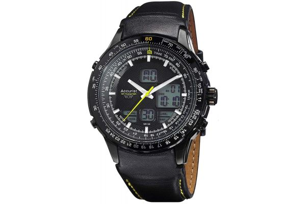 Mens Accurist Skymaster Watch MS930BY