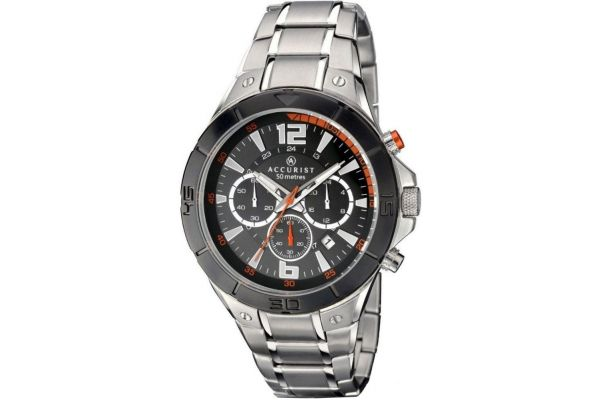 Mens Accurist Chronograph Watch 7086
