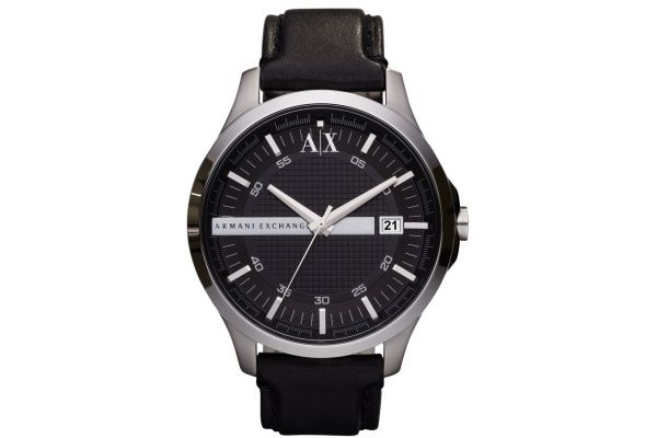 Mens Armani Exchange Dress Watch AX2101
