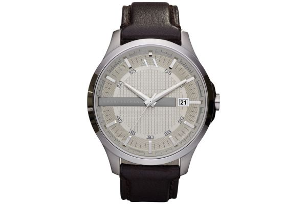 Mens Armani Exchange Dress Watch AX2100