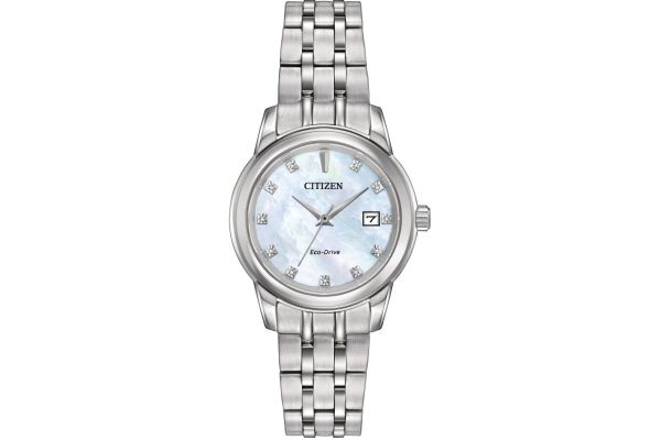 Womens Citizen Diamond Collection Watch EW2390-50D