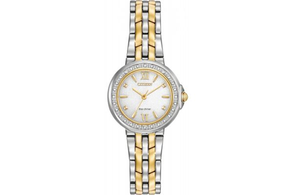 Womens Citizen Diamond Collection Watch EM0444-56A