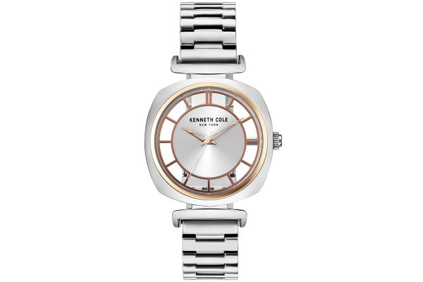 Womens Kenneth Cole Transparent Watch KC15108002