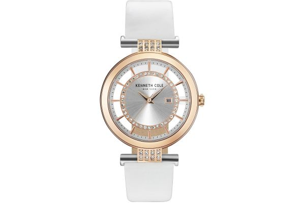 Womens Kenneth Cole Transparent Watch KC15005002