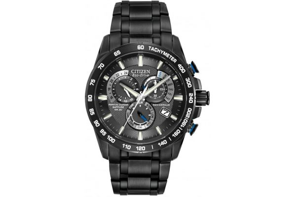 Mens Citizen Perpetual Calendar Watch AT4007-54E