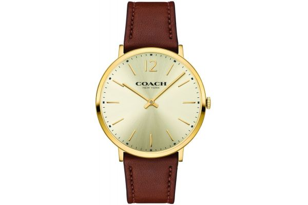 Mens Coach Ultra Slim Watch 14602111