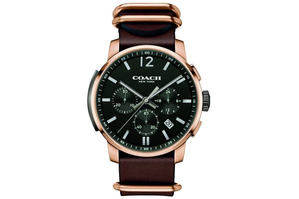 Mens Coach Bleecker Watch 14602019