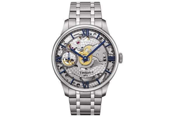 Mens Tissot Squelette Watch T099.405.11.418.00