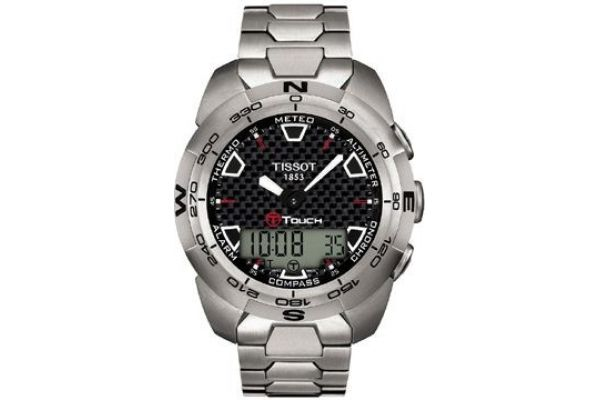 Mens Tissot T Touch Watch T013.420.44.201.00